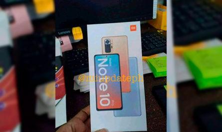 Благодаря фото коробки стало ясно, как выглядит Xiaomi Redmi Note 10 Pro