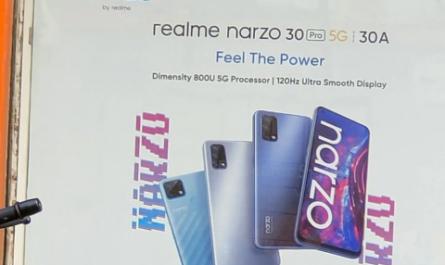Две новинки realme Narzo засветились на официальном изображении