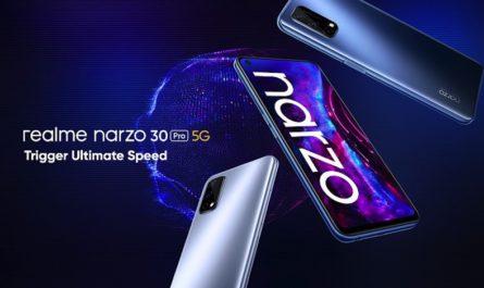 Геймерский realme Narzo 30 Pro с «разогнанным» экраном оценили в $235