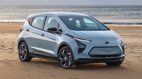 GM представила два электрокара Chevrolet в новом дизайне