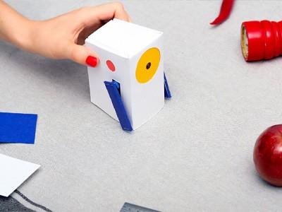 Google создала обучаемого робота в виде картонной коробки