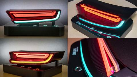 Hyundai выпустила гибкие светодиоды для автомобильных фонарей