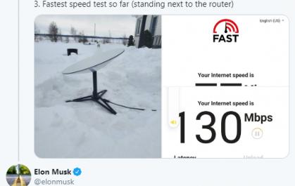 Илон Маск пообещал удвоить скорость интернета Starlink