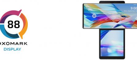 Эксперты DxOMark оценили качество дисплея LG Wing