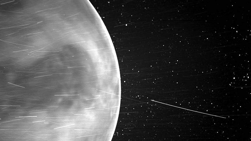 Космический зонд сделал необычную фотографию Венеры