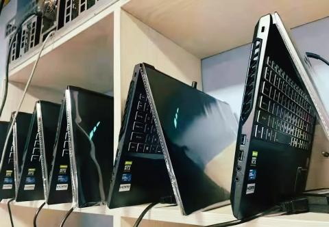 Майнеры начали скупать ноутбуки с видеокартами GeForce RTX