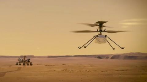 Марсианский дрон работает на Linux и устаревшем чипе Snapdragon
