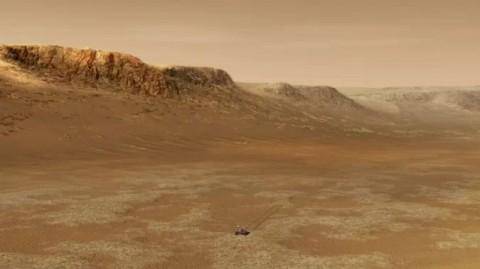 NASA: микроорганизмы с Земли способны выжить на Марсе