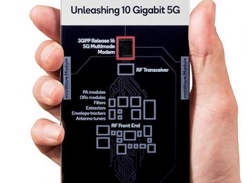 Новый модем Qualcomm Snapdragon X65 позволит скачивать файлы на скорости до 10 Гбит/с