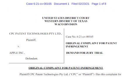 Патентный тролль судится с Apple из-за Touch ID и Face ID