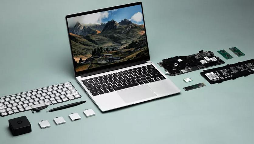 Представлен модульный ноутбук с возможностью простого апгрейда