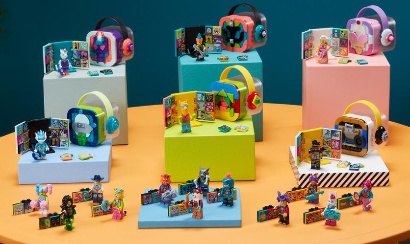 Приключения LEGO в России: новый уникальный VR-конструктор и наборы VIDIYO