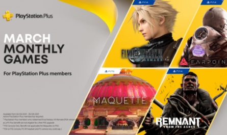 PS Plus в марте: Final Fantasy VII Remake и все-все-все