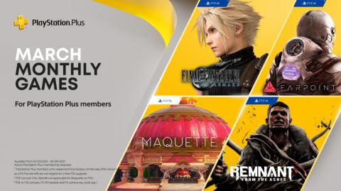 PS Plus в марте: Final Fantasy VII Remake и все-все-все