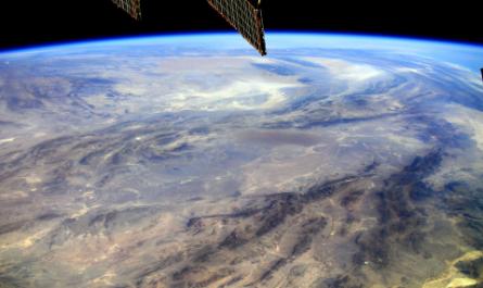 Российский космонавт снял с борта МКС самое жаркое место на Земле