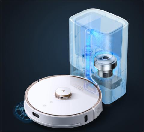 Viomi представила робот-пылесос с функцией самоочистки