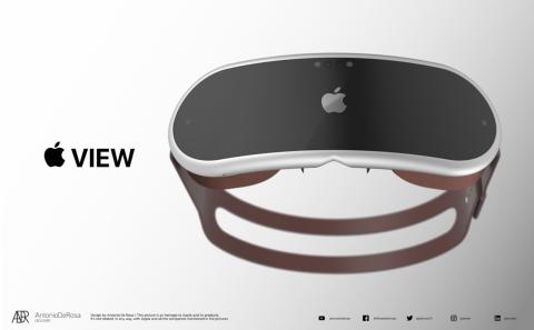 VR-гарнитуру Apple показали на концепт-рендерах