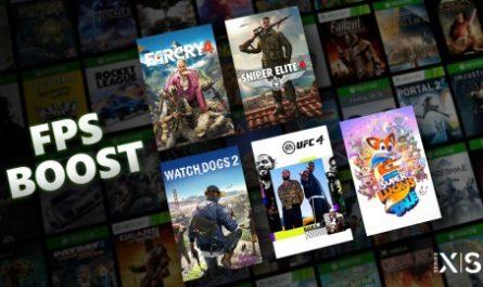 Xbox Series X/S научили повышать fps в играх по обратной совместимости