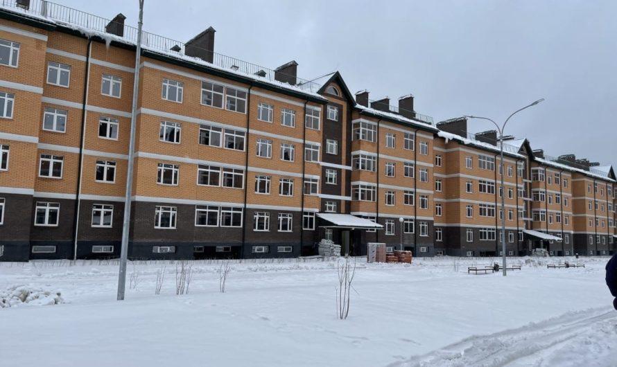 Строительно-монтажные работы на корпусах 3-й очереди ЖК «Марьино Град» выполнены на 90%