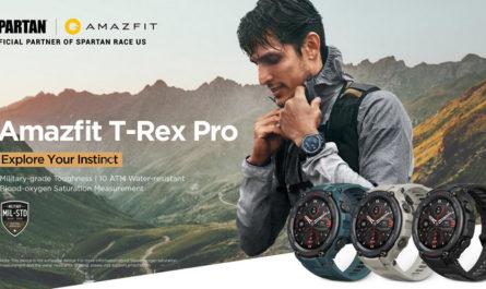 Amazfit T-Rex Pro: 18 дней автономности и защищённый корпус