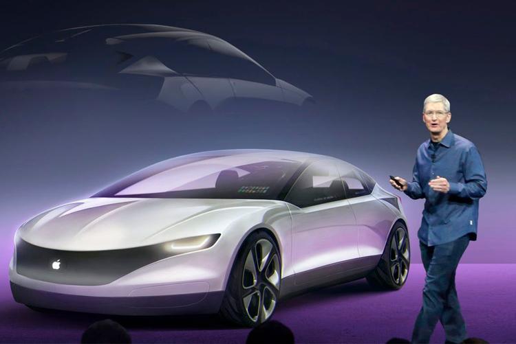 Apple запатентовала «систему ночного виденья»для электромобиля