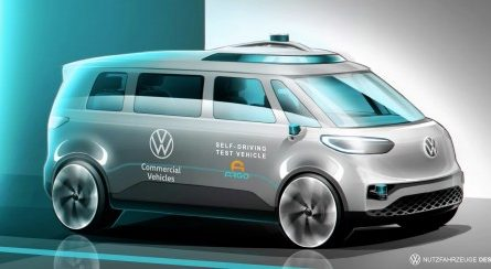 Беспилотный минивэн с ИИ и электрокабриолет Volkswagen