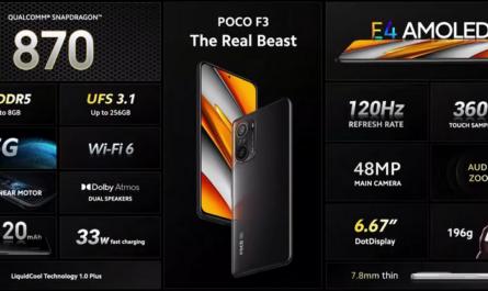 Флагманский POCO F3 на Snapdragon 870 стоит 27 000 рублей