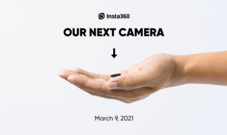 Insta360 показала экшен-камеру размером с палец в действии [ВИДЕО]