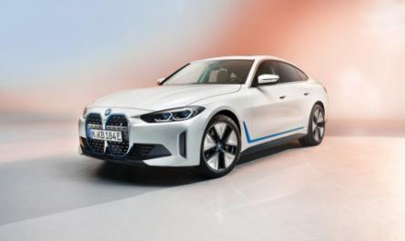 Электроседан BMW i4 EV на первых официальных изображениях