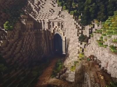 Энтузиасты воссоздали мир «Властелина колец» в Minecraft [ВИДЕО]