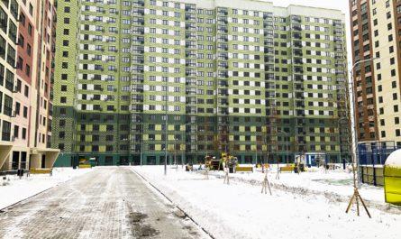 Строительство ЖК «Некрасовка» полностью завершено