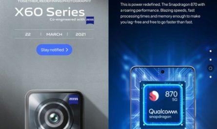 Камерофон vivo X60 без чипа Samsung выйдет уже в марте