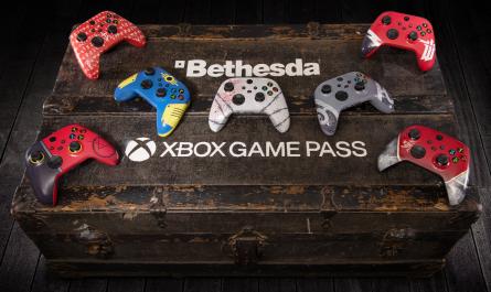 Microsoft отмечает слияние с Bethesda розыгрышем особых геймпадов