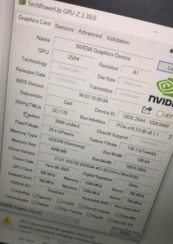 Мобильная NVIDIA GeForce RTX 3050: характеристики и особенности