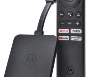 Motorola выпустила конкурента Xiaomi Mi TV Stick