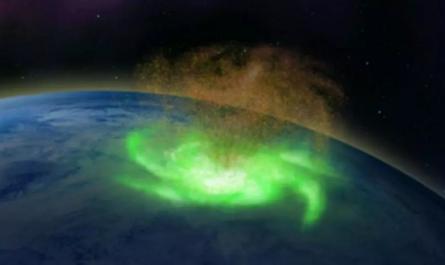 Над Землёй впервые заметили космический ураган из плазмы