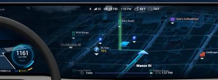 Новый 3D-интерфейс для авто от Unity и HERE [ВИДЕО]