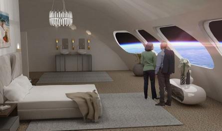 Первый космический отель получит рестораны, кинотеатры и бассейны