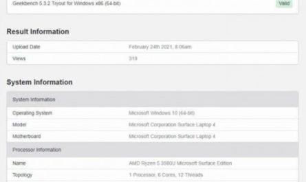 Покупатели Microsoft Surface Laptop 4 смогут выбрать между Intel и AMD