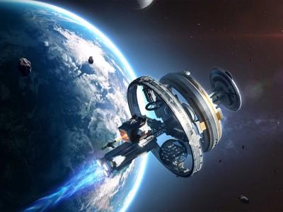 Полёт на 55 миллионов световых лет в центр чёрной дыры [ВИДЕО]