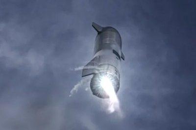 Полёт звездолёта Starship с непривычного ракурса [ВИДЕО]