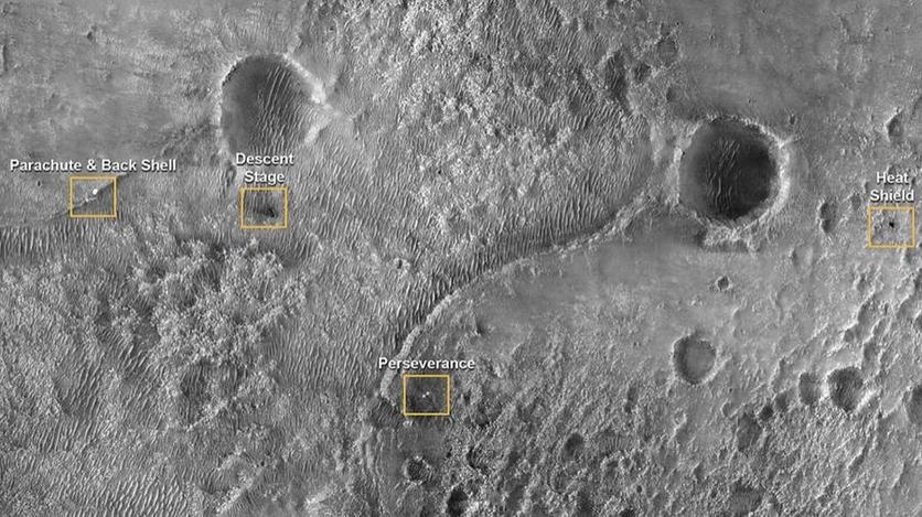 Российский зонд подтвердил посадку американского ровера на Марс