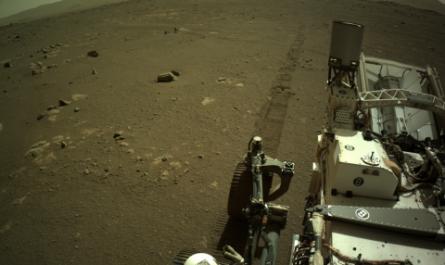 Ровер Perseverance записал марсианский аудиоклип