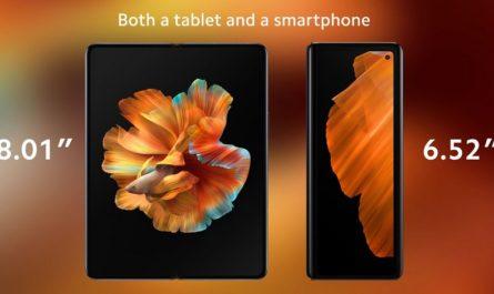 Складной Xiaomi Mi Mix Fold: камера с жидкой линзой и цена 115 000 рублей