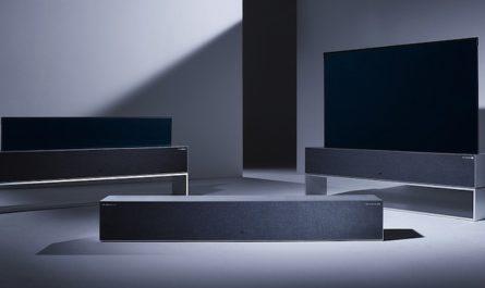 Сворачивающийся телевизор LG можно будет купить в России