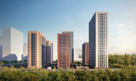 Выдано разрешение на строительство еще двух корпусов в ЖК «Мичуринский парк»