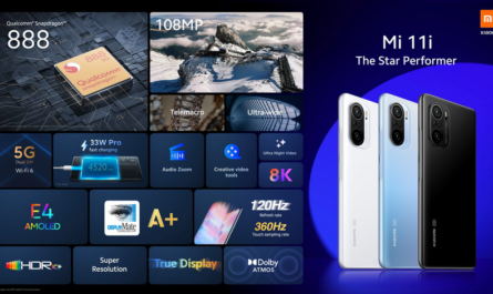 Xiaomi Mi11i: плоский экран 120 Гц и Snapdragon 888 за €649