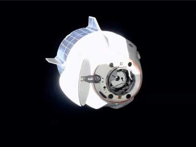 Автопилот космического корабля Crew Dragon показали в действии