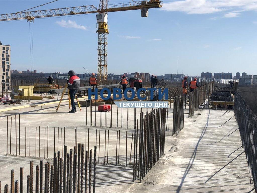 За месяц высотность секций в проблемном ЖК «Терлецкий парк» увеличилась на 2 этажа