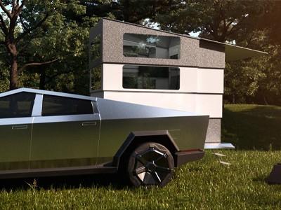 CyberLandr превращает пикап Илона Маска в дом на колёсах [ВИДЕО]